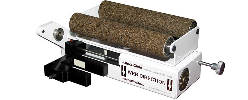 Electronic edge guide system (alineador de borde electrico)(id.